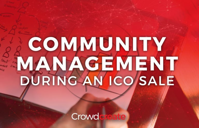 Ico community management