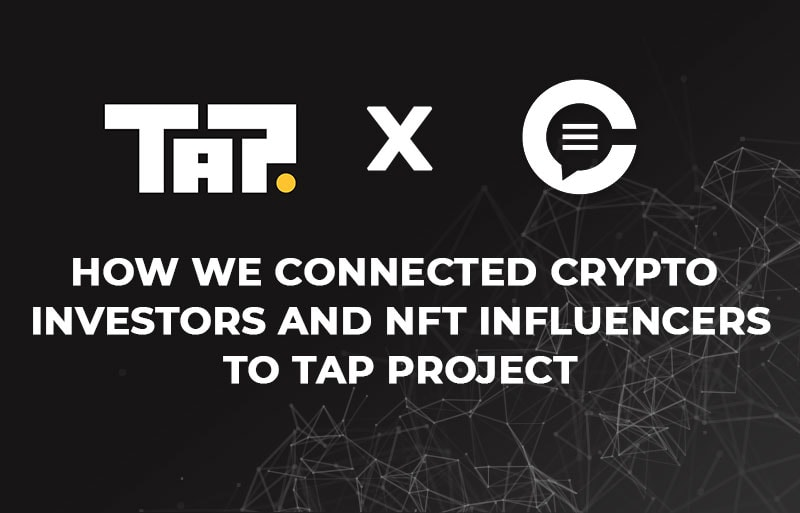 crypto infleucners tap project